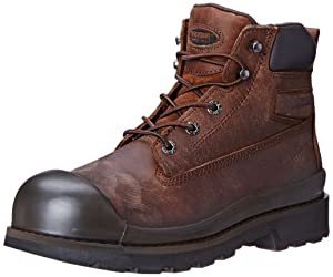 1. Wolverine Men's Crawford WPF SR 6 Inch Steel Work Boot