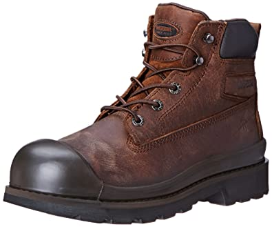 Mens Wolverine Men's Crawford WPF SR Well Steel Work Boot For Sales Size 45