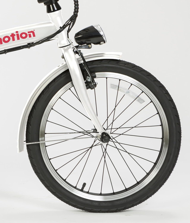 Urban e-motion Bicicleta eléctrica e-Bike Comfort Blanca 10000Ah: Amazon.es: Deportes y aire libre