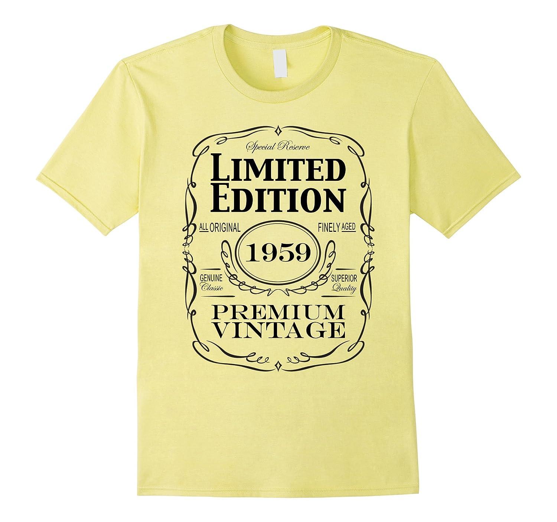 5b6723c8 58th Birthday Gift T-Shirt – Born in 1959 Turning 58 Shirt-PL ...