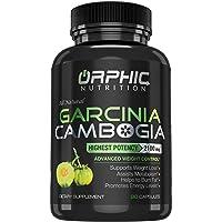 100% Pure Garcinia Cambogia Extract - Appetite Suppressant - Carb Blocker Capsules - 2100 MG - 90 Caps