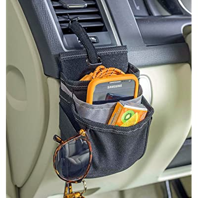 High Road DriverPockets Car Air Vent Phone Holder Organizer with Charging Port: Automotive [5Bkhe0100922]