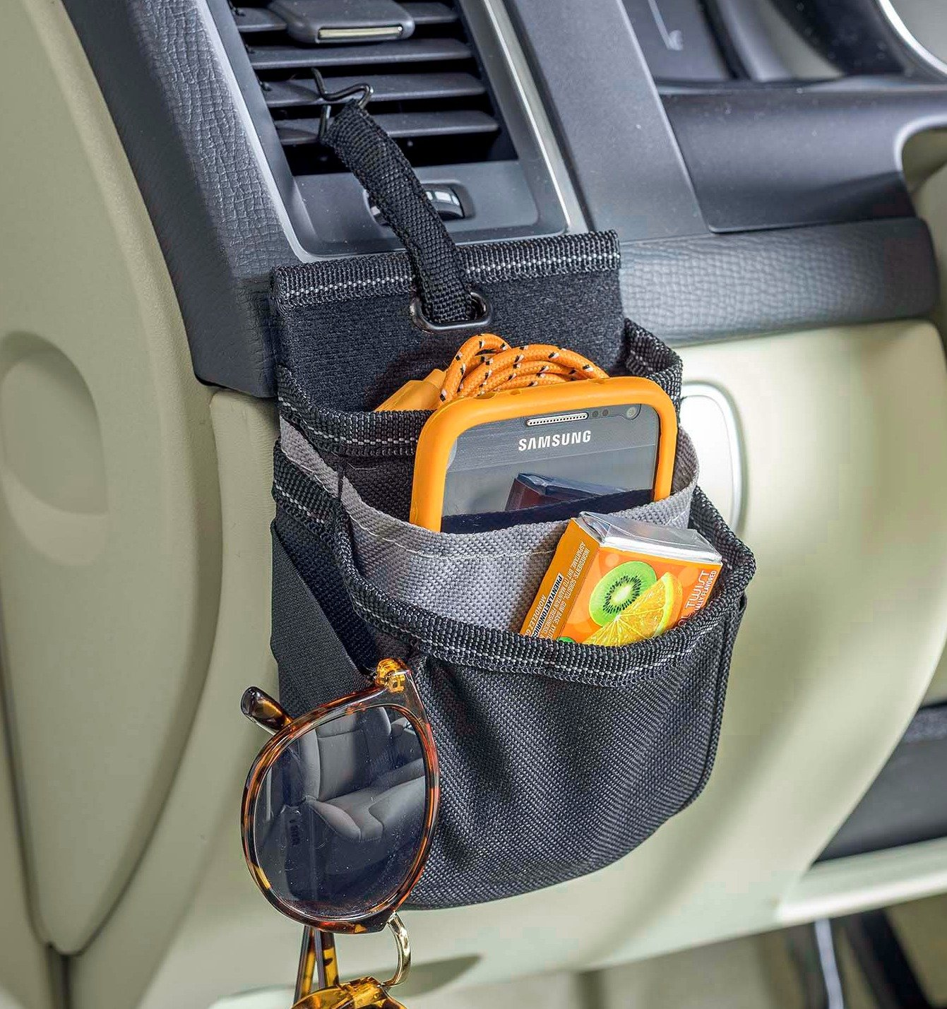 High Road DriverPockets Car Vent Cell Phone Holder with Charging Port by High Road