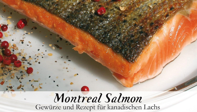 Feuer & Glas Montreal Salmon, Receta para Salmón Canadiense, 57 g: Amazon.es: Alimentación y bebidas