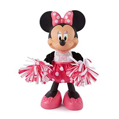 Fisher-Price Disney Minnie, Cheerin' Minnie: Toys & Games