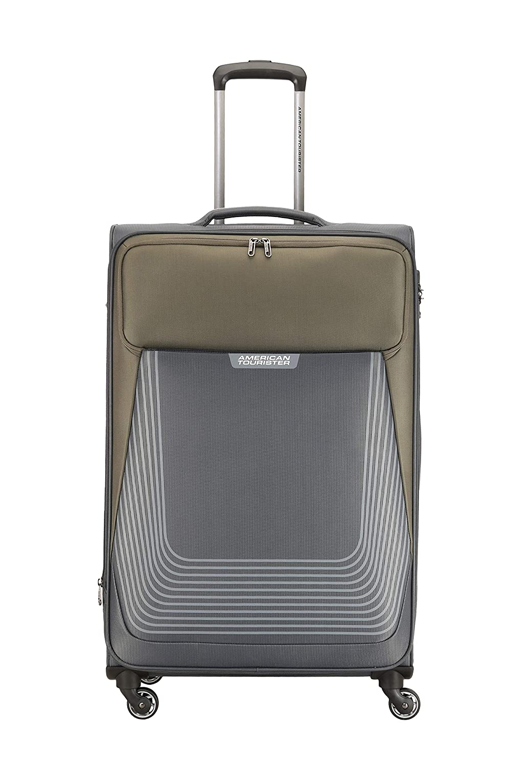 american-tourister-southside-polyester-70-cms-greyolive-softsided-check-in-luggage