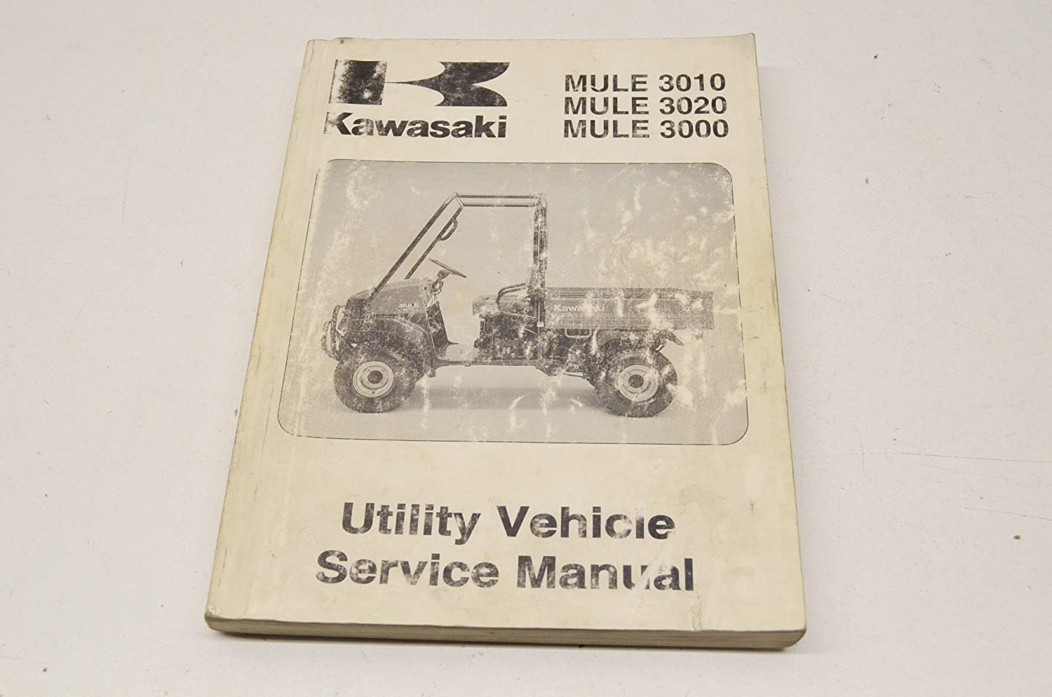 Amazon.com: Kawasaki 99924-1262-01 Service Manual Mule 01 3010, 3020, 3000  QTY 1: Automotive