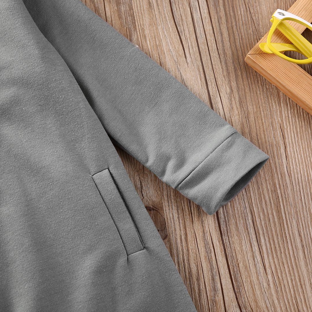 Autumn Baby Girl Boy Cotton Hoodies Sweater Romper Jumpsuit Playsuit Clothes Kids Bodysuits