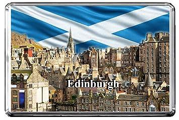 MAGNET  TRAVEL Photo Magnet EDINBURGH Scotland