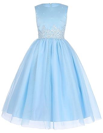 GRACE KARIN Maedchen Prinzessin Kleid Hochzeits Festzug Kleid ...