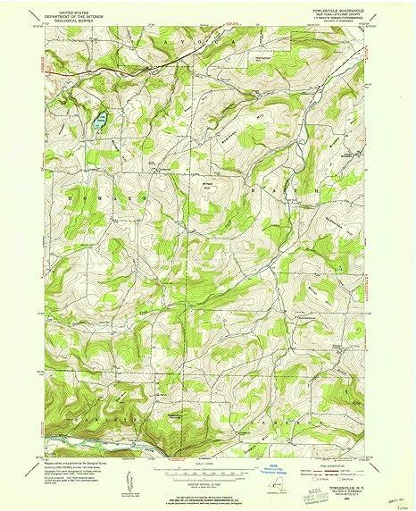 Nys Elevation Map.Amazon Com Yellowmaps Towlesville Ny Topo Map 1 24000 Scale 7 5