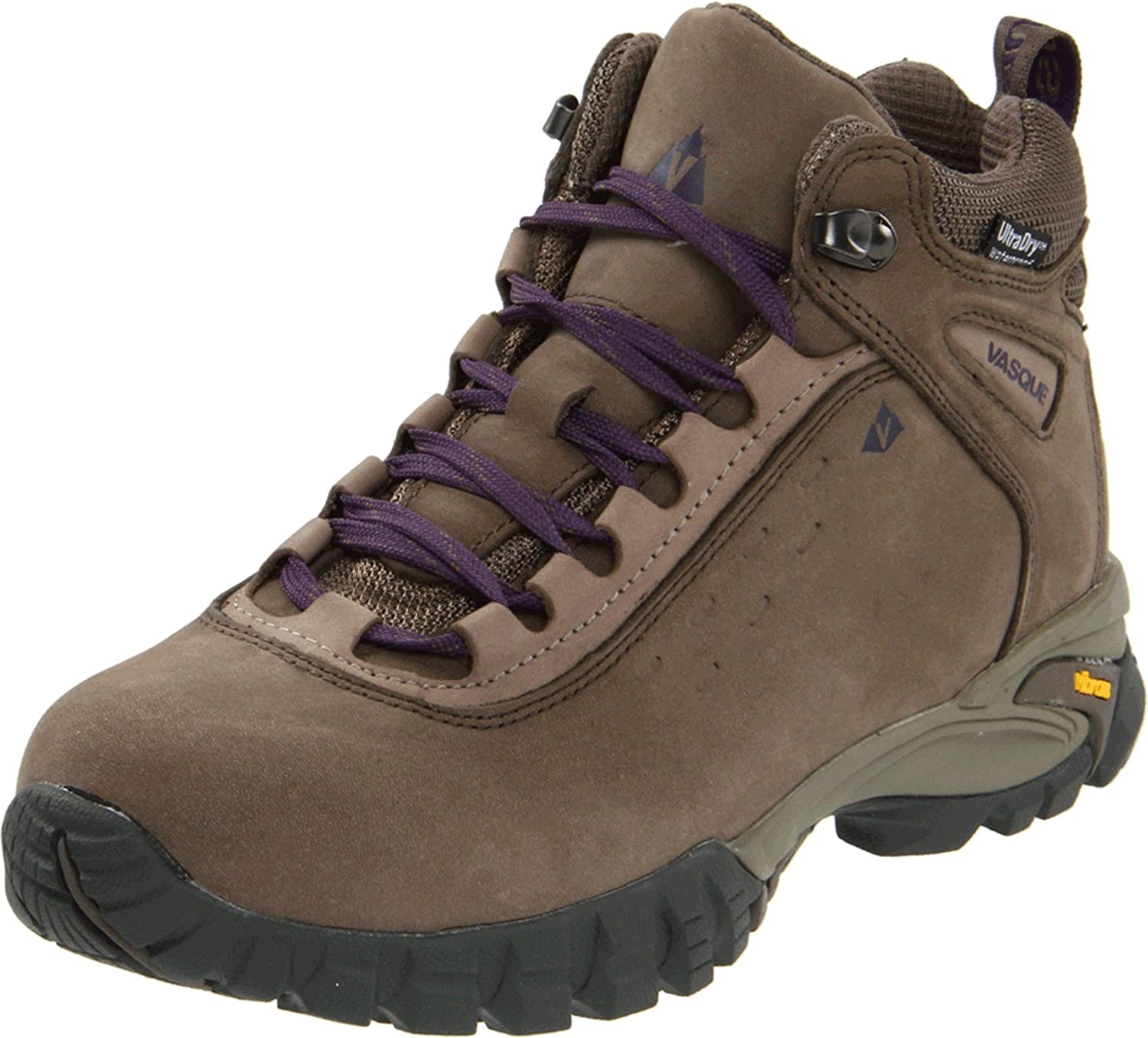 Vasque Women's Talus Waterproof Hiking Shoe B005EQ9AQA 9 B(M) US|Bungee Cord/Purple Plumeria