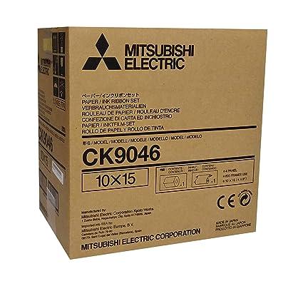 MITSUBISHI Papel 10 x 15 CK 9046 (600 fotos): Amazon.es ...