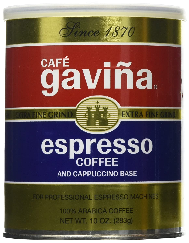 Gaviña Espresso Extra Fine Ground Coffee (10 Ounce Can)