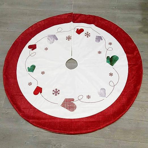 YesDone Falda para árbol de Navidad, decoración de Navidad, Falda ...