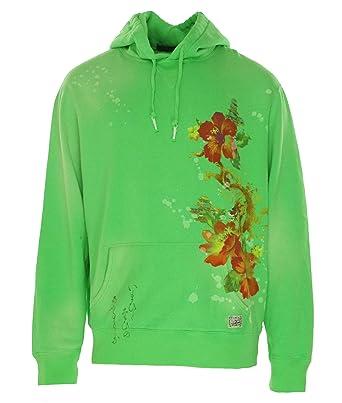 Polo Ralph Lauren Men\u0027s Floral Dragon Fleece Hoodie Jacket [2XL] [Alfalfa  Green]