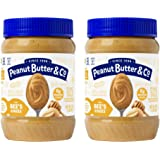 Peanut Butter & Co. The Bees Knees (Honey) Peanut Butter, Gluten Free, 16 oz Jars (Pack of 2)