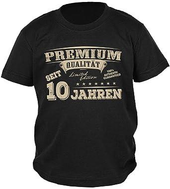 10 Geburtstag Spruche T Shirt Kindergeburtstag Junge Premium
