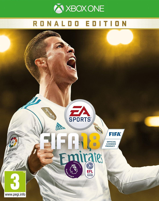 e7ef89ad9 UK Daily Deals  Preorder PS4 Slim FIFA 18 Cristiano Ronaldo Deluxe ...