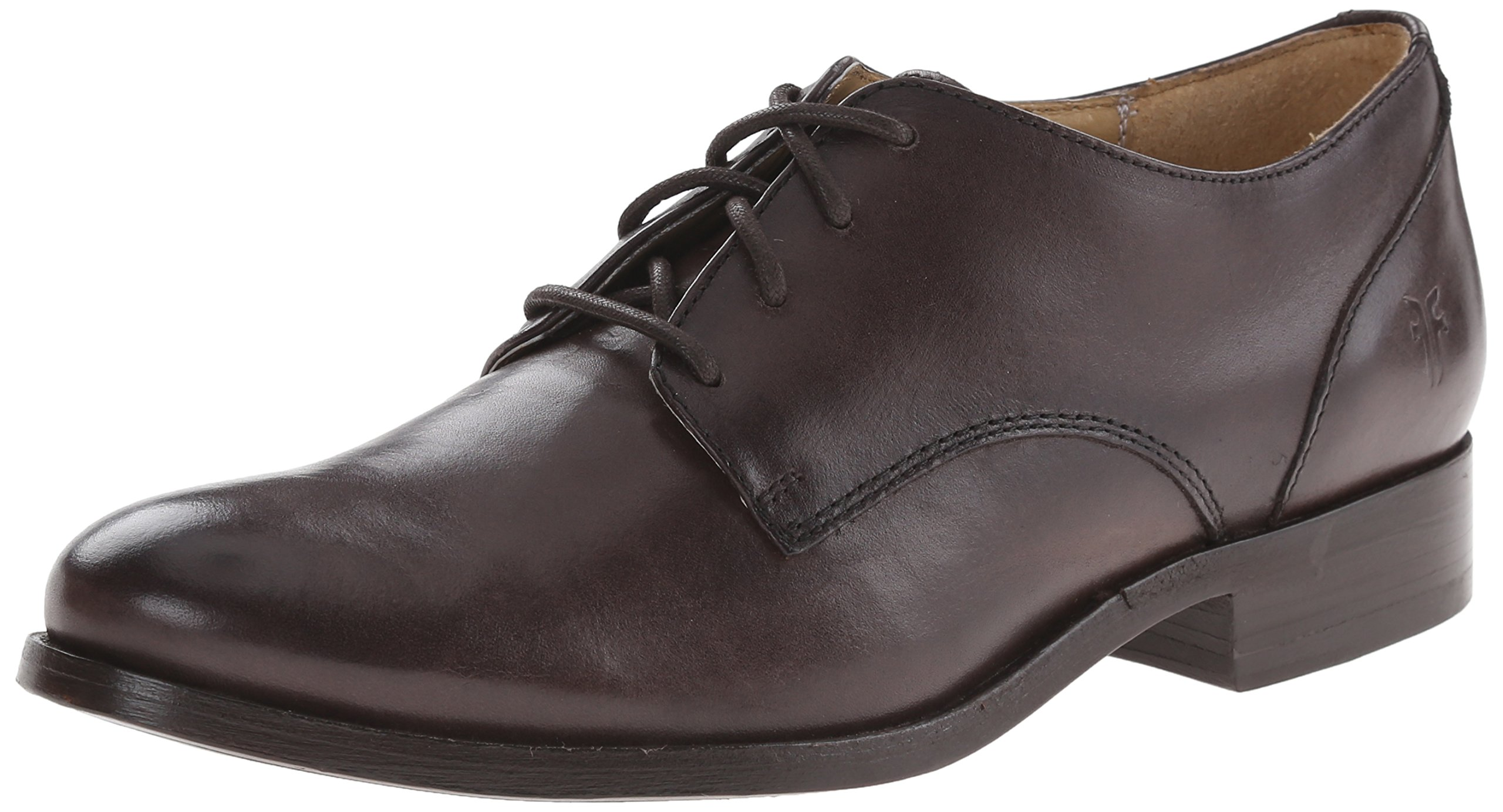 FRYE Women's Melissa-SMVLE Oxford, Dark Grey, 7 M US
