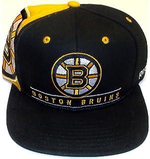 promo code 799b9 17732 Boston Bruins Retro Snap Back Reebok Hat - Osfa