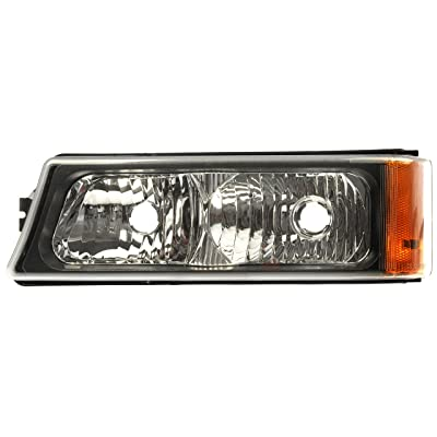 Dorman 1630067 Front Driver Side Turn Signal / Parking Light Assembly for Select Chevrolet Models: Automotive