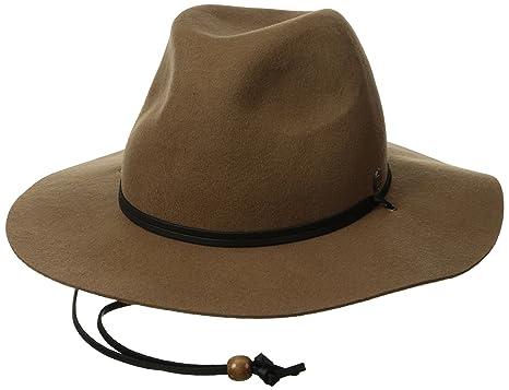56704f960f64e Amazon.com  Coal Men s Lee Fedora Hat  Clothing