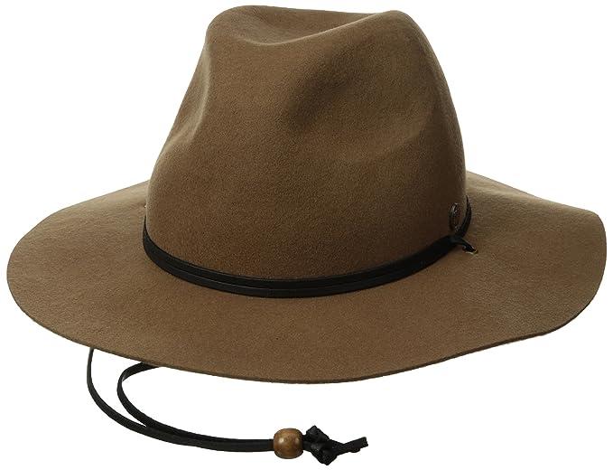 786ec9f6e2d Amazon.com  Coal Men s Lee Fedora Hat  Clothing