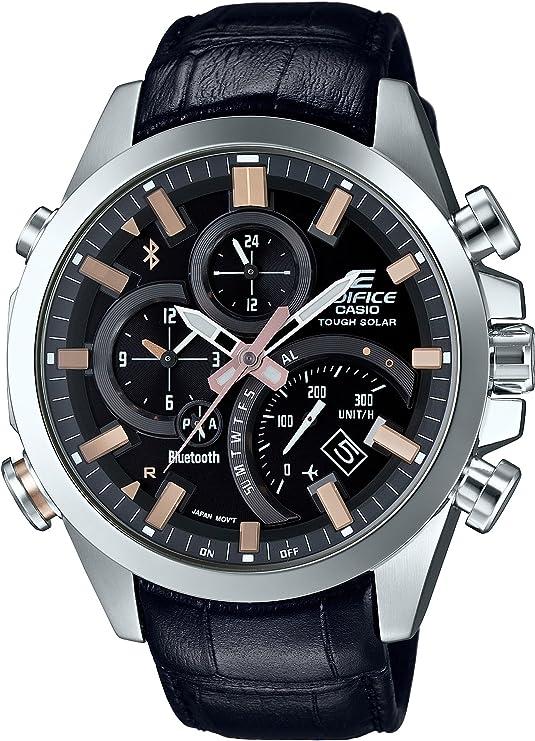 [カシオ] 腕時計 エディフィス スマートフォンリンク EQB-501L-1AJF メンズ ブラック