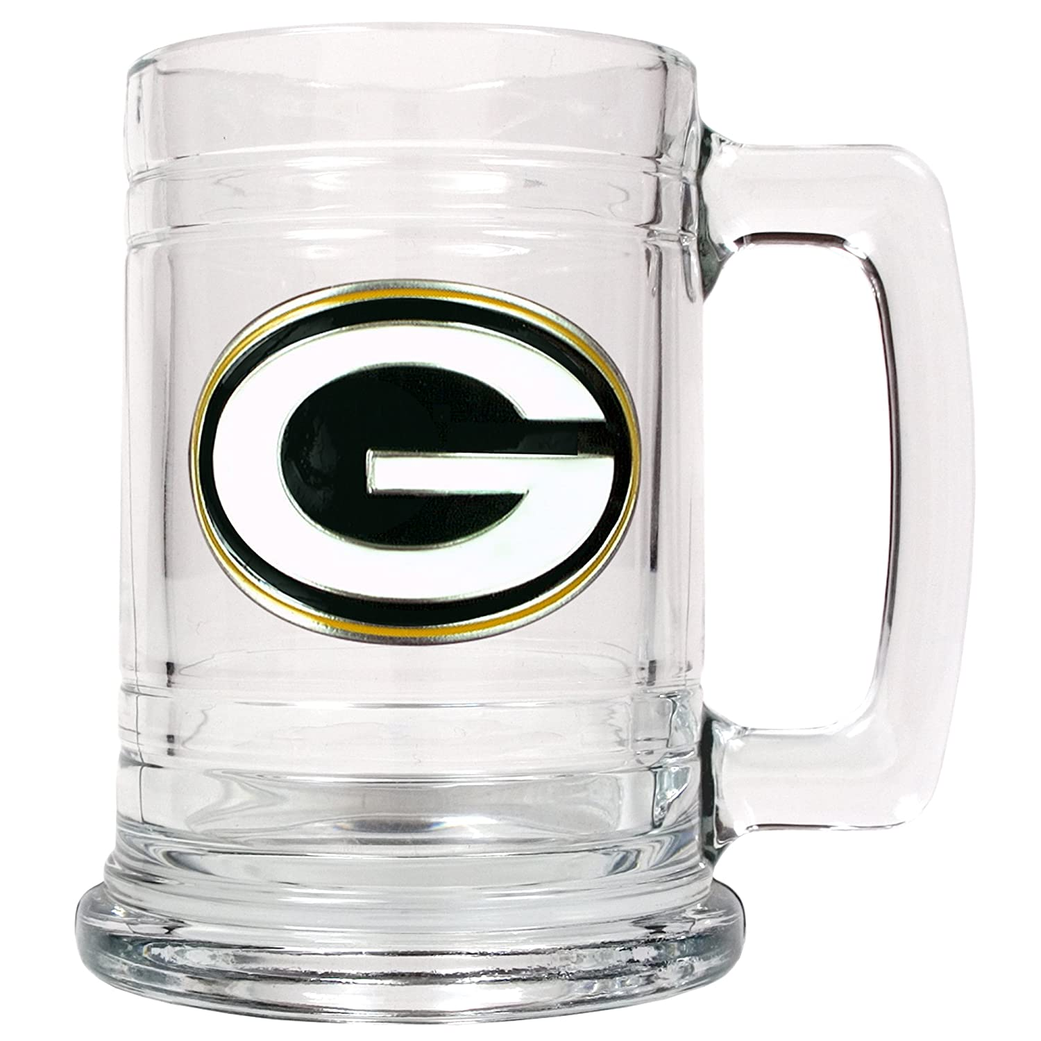 Great American Products NFL Green Bay Packers Tankard, One Size, Black