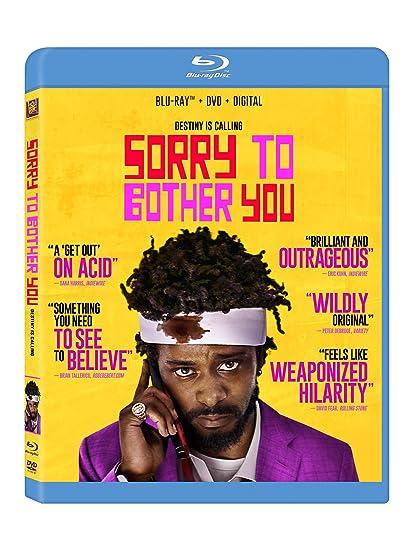 Amazon Sorry To Bother You Blu Ray Tessa Thompson Movies TV