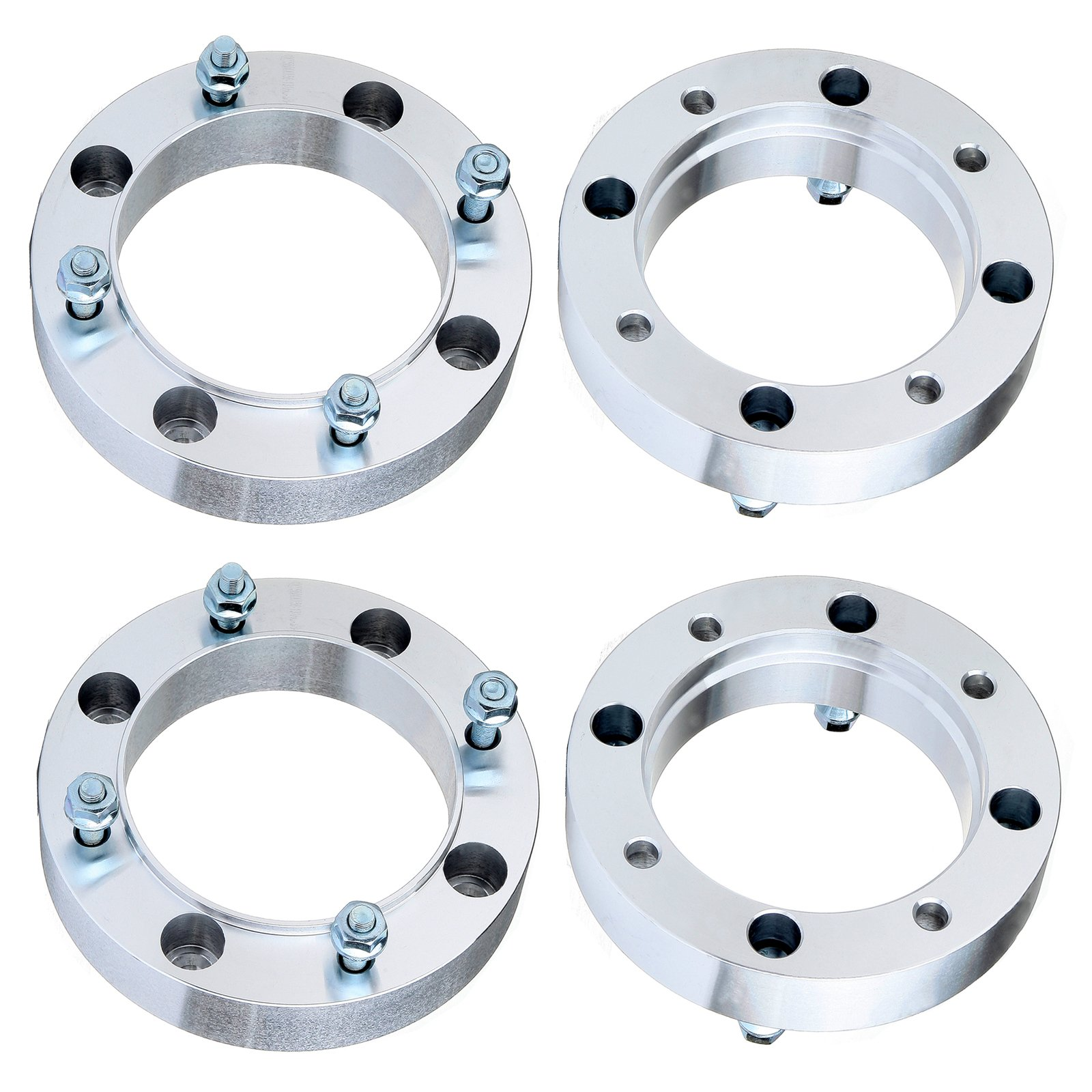 Wheel Spacers 4X156,ECCPP 1.5 inch Wheel Spacers 4 Lugs 4X 38mm 4x156mm for 1996-2012 Polaris Sportsman 500 with 3/8''x24 Studs