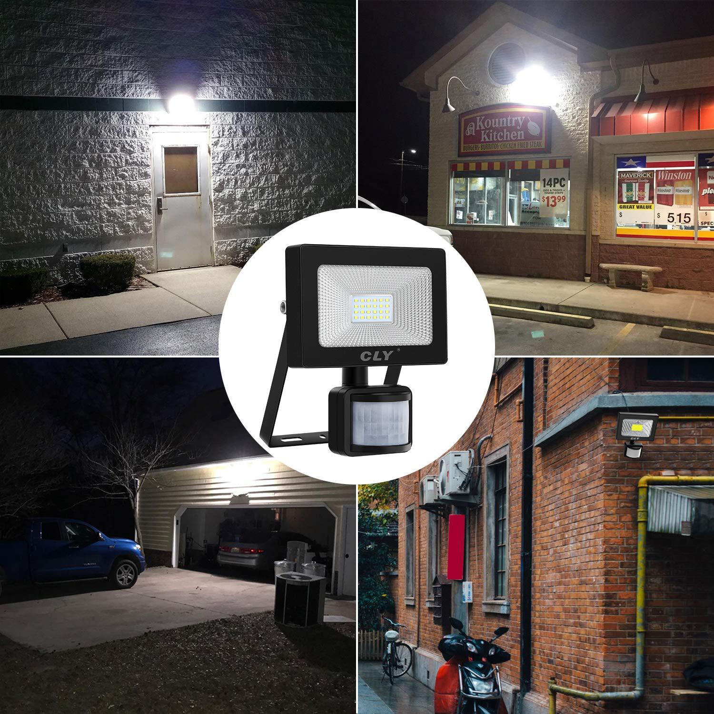 LED Strahler mit Bewegungsmelder CLY 20W LED Außenstrahler Scheinwerfer Fluter