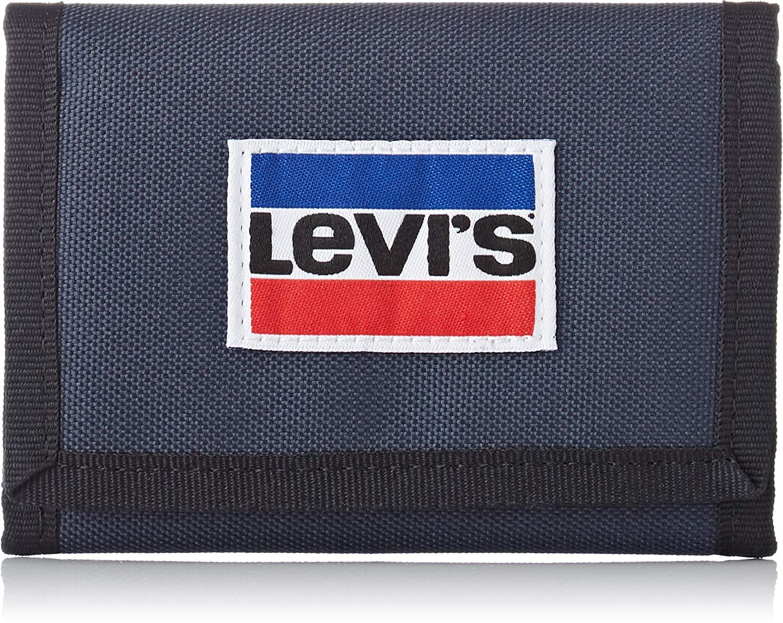 Levis - Sportswear Patch Trifold, Hombre, Azul (Dark Blue), 1x9x12 cm (W x H L): Amazon.es: Zapatos y complementos