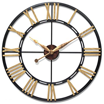 infinity instruments cologne oversized wall clock