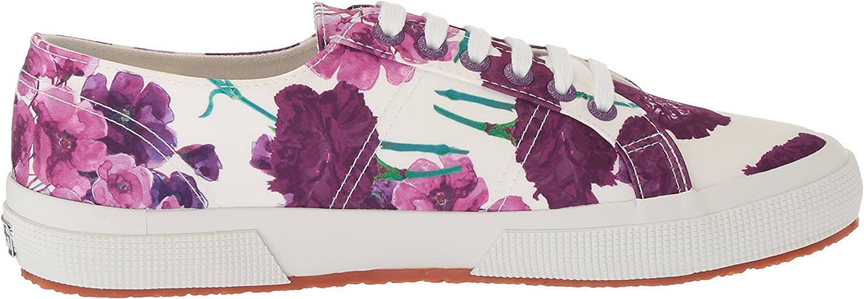 Superga Women's 2750 Floral Sneaker Purple/Multi