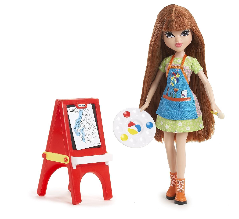 amazon com moxie girlz painter doll kellan toys u0026 games