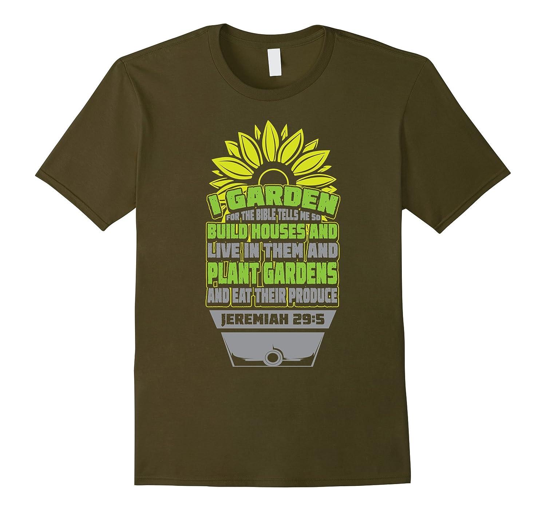 Bible Verse For Gardening - Christian Gardener T-shirt-TH - TEEHELEN