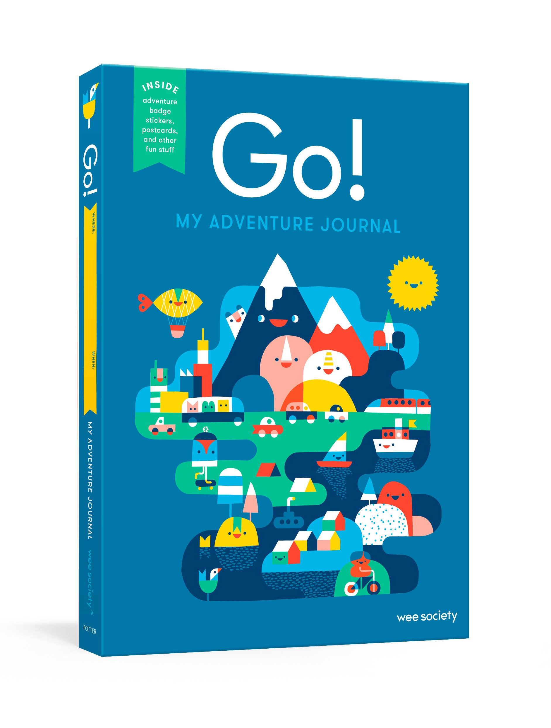Go! (Blue): A Kids' Interactive Travel Diary and Journal (Wee Society) ebook