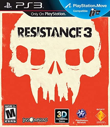 Amazon com: Resistance 3 - Playstation 3: Video Games