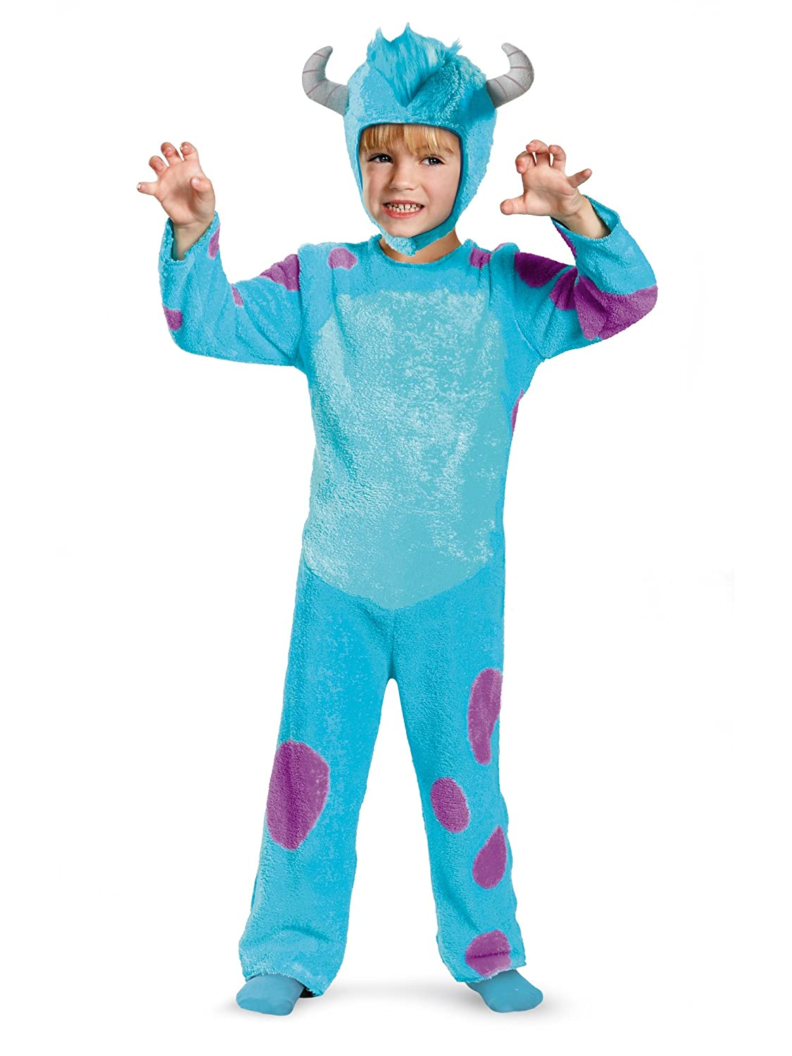 Disney Pixar Monsters University Sulley Toddler Classic Costume, 4-6