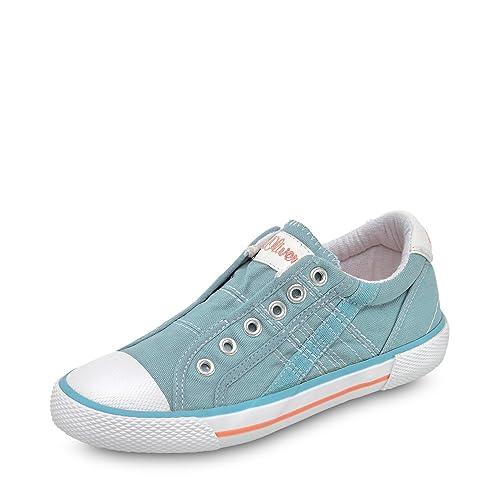 Oliver 5-5-54107-20/810-810 - Zapatillas de Tela Para Niña: s.Oliver: Amazon.es: Zapatos y complementos