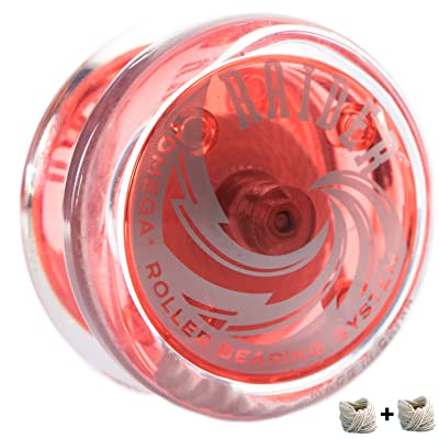 Yomega Raider – Responsive Pro Level Ball Bearing Yoyo, Designed for Advanced String Trick and Looping Play (Color May Vary): Toys & Games