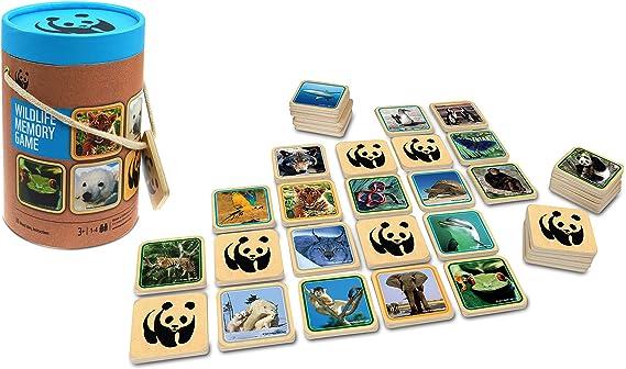 WWF - Juego de memoria Fauna Salvaje (984) , Modelos/colores Surtidos, 1 Unidad: Amazon.es: Juguetes y juegos