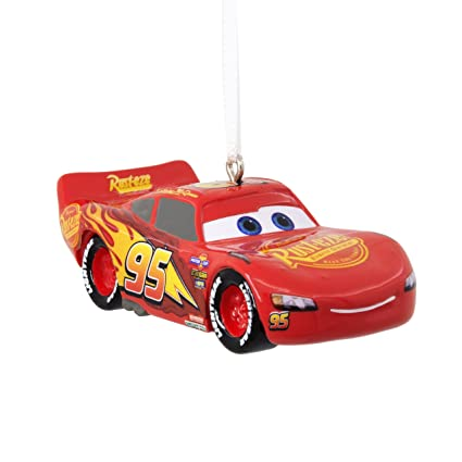 e23f4d2d70 Amazon.com: Hallmark Disney Lightning McQueen Cars 3 Christmas Ornaments:  Home & Kitchen