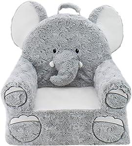 Soft Landing   Sweet Seats   Premium Elephant Children's Plush Chair
