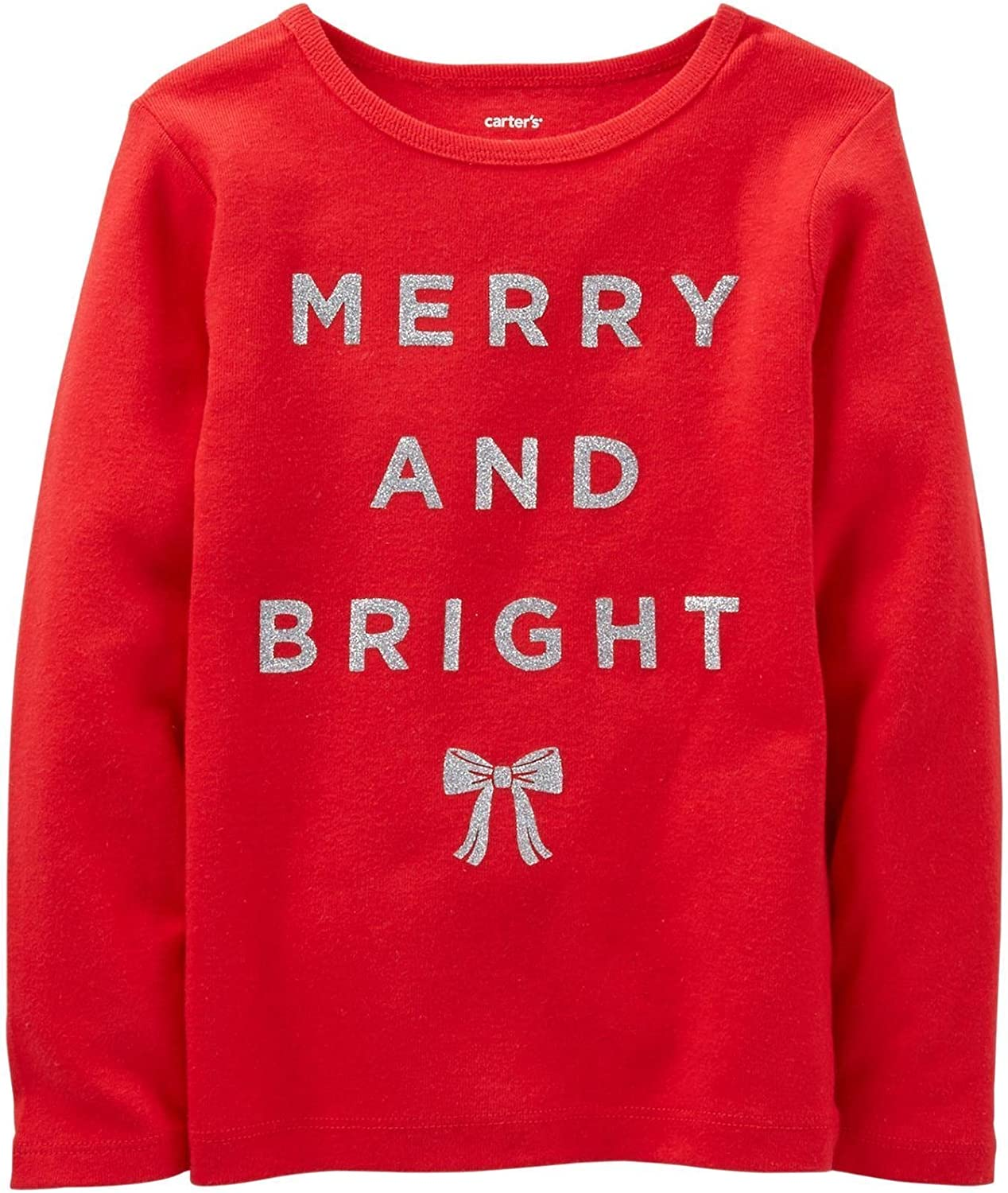 Carters Merry /& Bright Tee Red-3 Months Baby