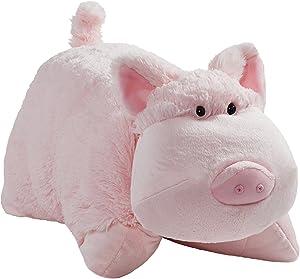 "Pillow Pets Originals Wiggly Pig 18"" Stuffed Animal Plush Toy"