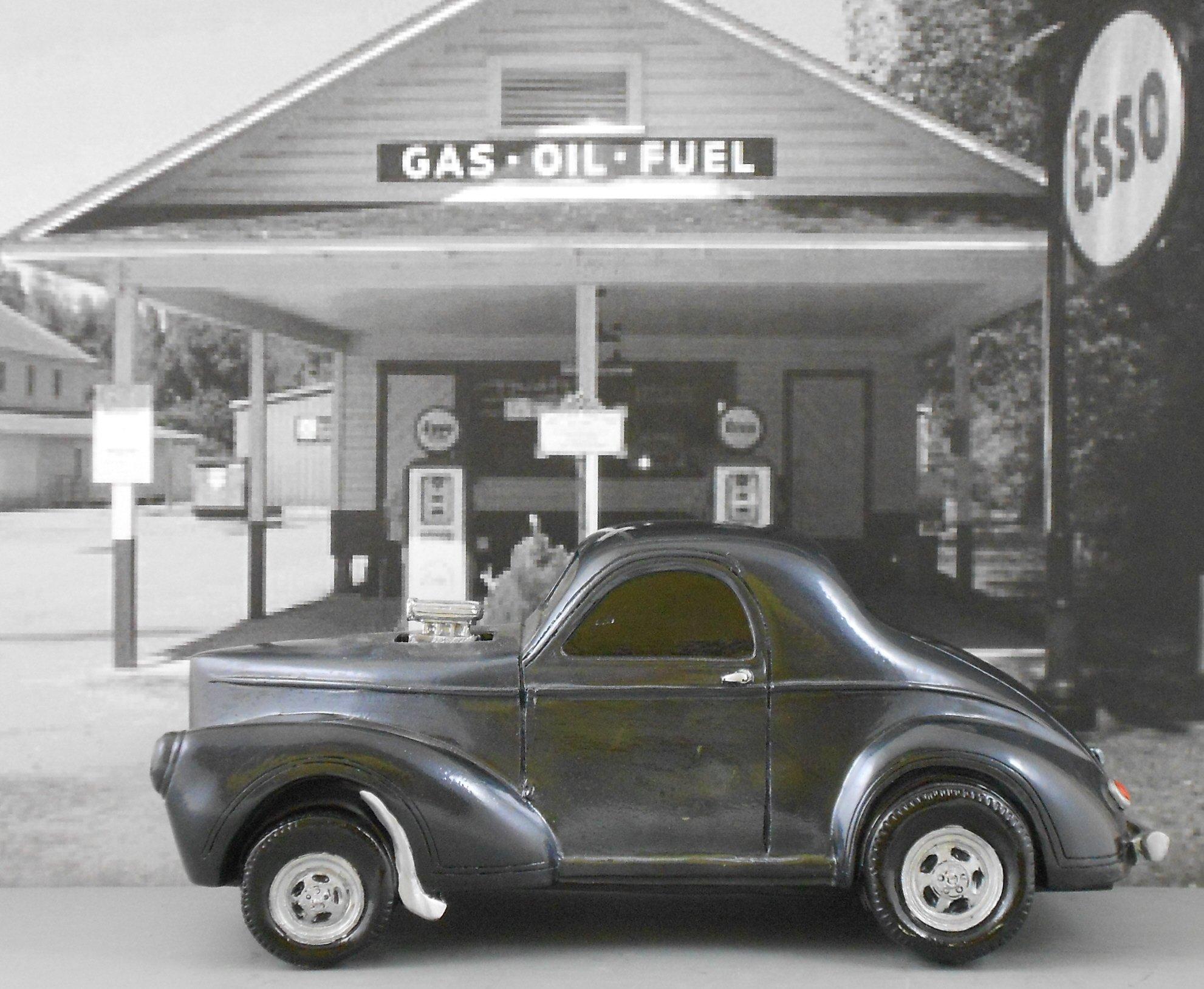 Gasser Model 1941 Willys 1:18 Scale Black by Gasser Models (Image #6)