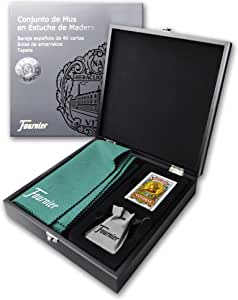 Fournier- Conjunto Completo de Mus Estuche de Juego para Regalo (F43415): Amazon.es: Juguetes y juegos